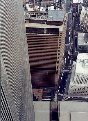Vesey Street And World Trade Center 7.