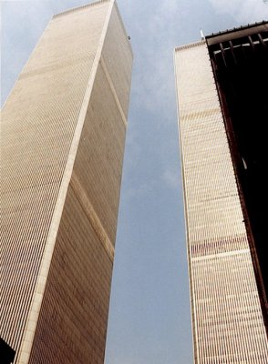 Towers From Plaza plus WTC 5.
